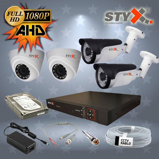 STYX AHD Kamera Kampanyası 2'li Kamera Seti