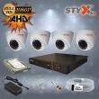 STYX AHD Kamera Kampanyası 4'lü Kamera Seti