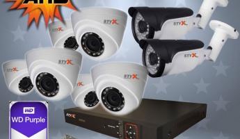 STYX AHD Kamera Kampanyası 6'lı Kamera Seti